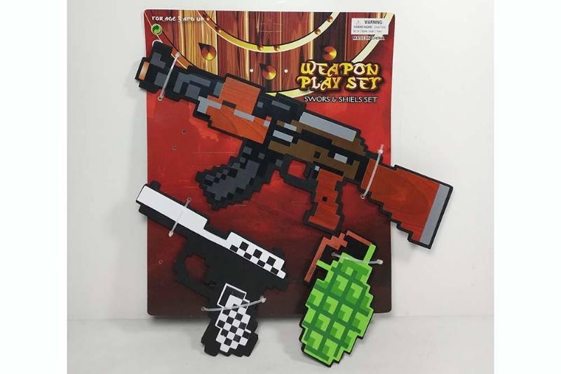 EVA Environmental Protection Toy Series EVA Weapon No.TA229711
