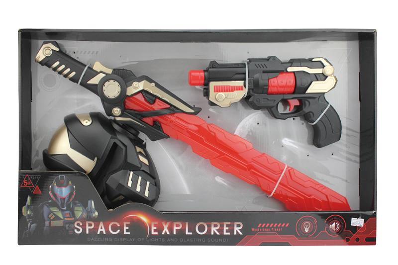 Military Simulation Toys Flash Space SetNo.TA256500