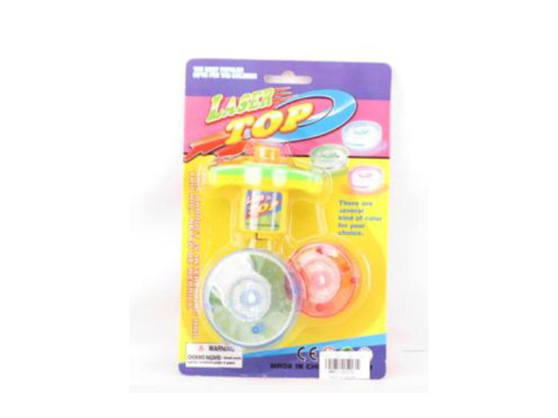 Two-color light gyro educational toys No.TA115571