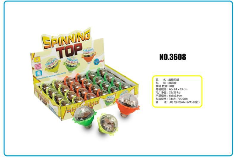 Educational toys, friction small gyro No.TA253710