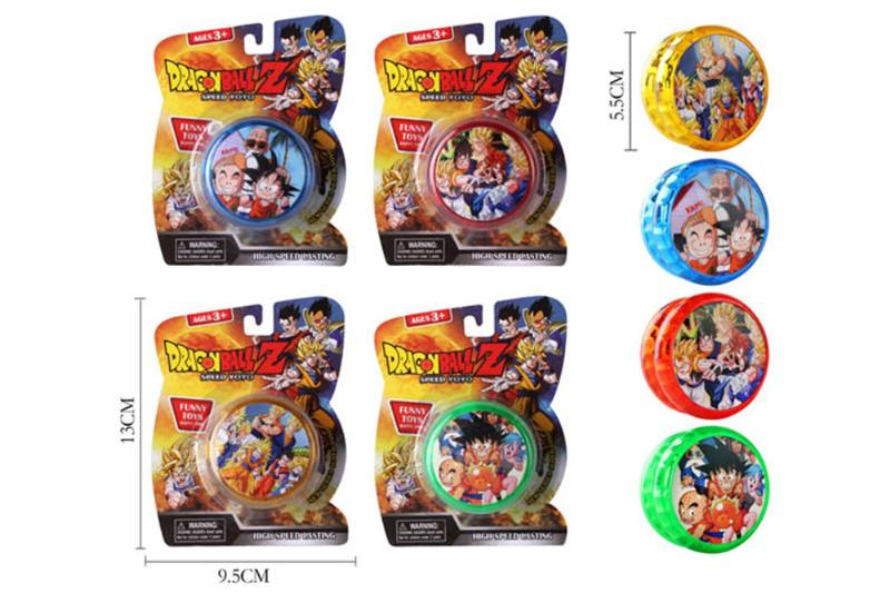 Dragon Ball Yo-Yo with lights (four mixed) No.TA254086