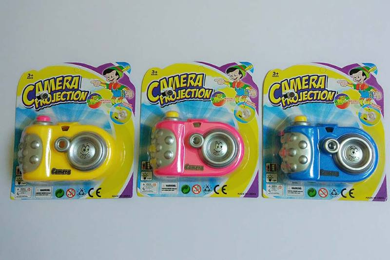 Children's cartoon camera toy series Cartoon lights-projector camera (including electricit No.TA236243