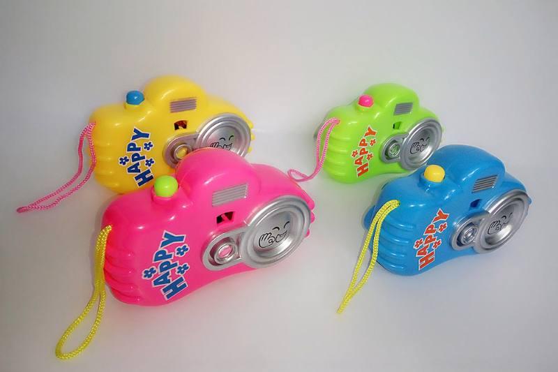 Children's cartoon camera toy series Cartoon lights-projector camera (including electricit No.TA236245