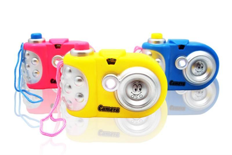 Children's cartoon camera toy series Cartoon lights-projector camera (including electricit No.TA236247