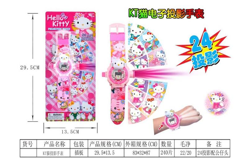 Children's Cartoon Projection Watch Series KT Cat Projection Watch No.TA240162