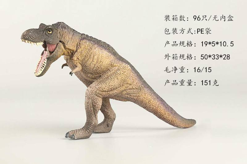 Animal and Plant Model Toys Hunting Tyrannosaurus (Gray) No.TA247696