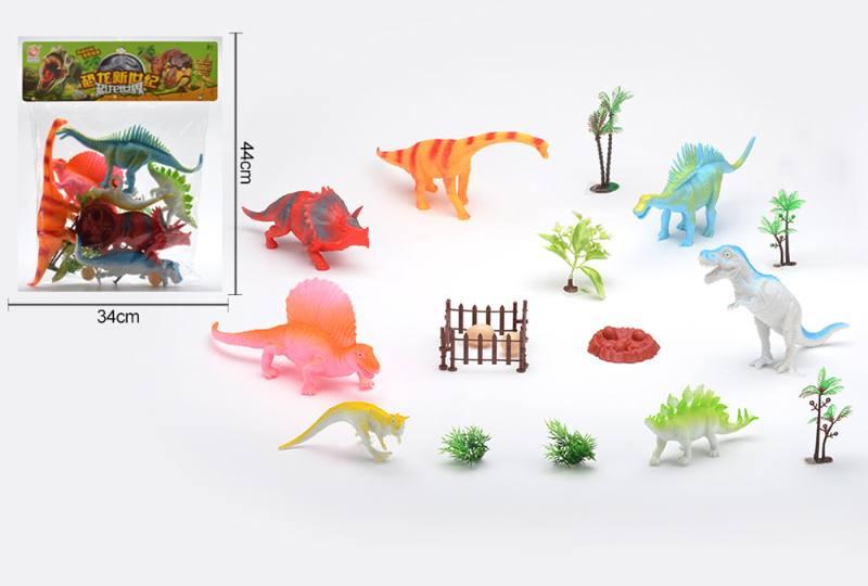 Animal and plant simulation model toy Dinosaur World No.TA253100
