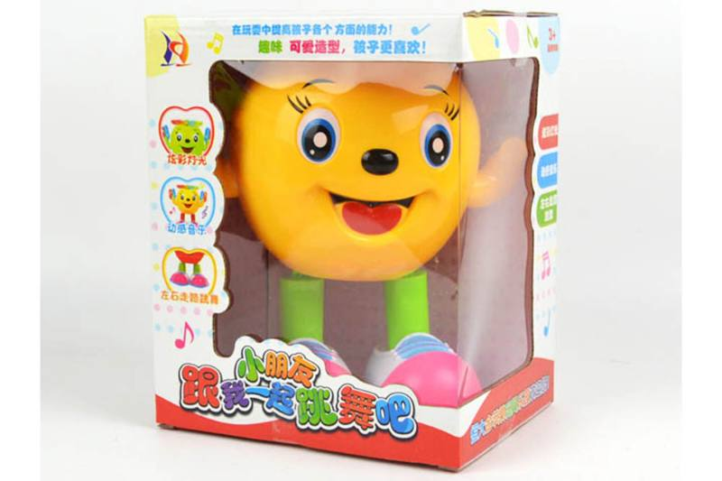 Educational toys Electric dancing walking apple (egg/apple green mixed color) No.TA253913