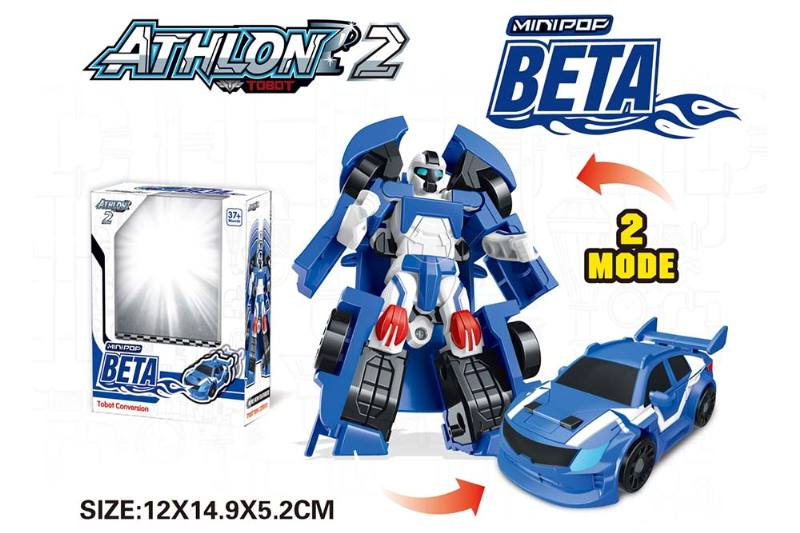 Deformation toys Tobol Brothers One-click deformation Three mixed (English) No.TA239222