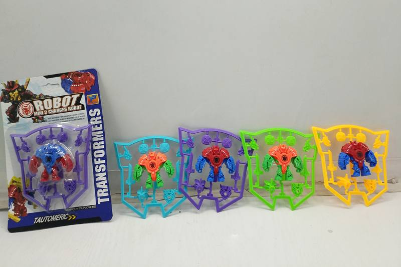 Assembled toy deformation robot No.TA251176