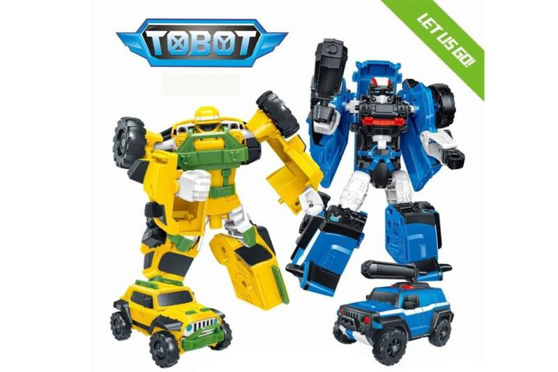 Transforming Toys Tobo Brothers (Second Generation) 2 Sets Off-road Vehicles No.TA253073