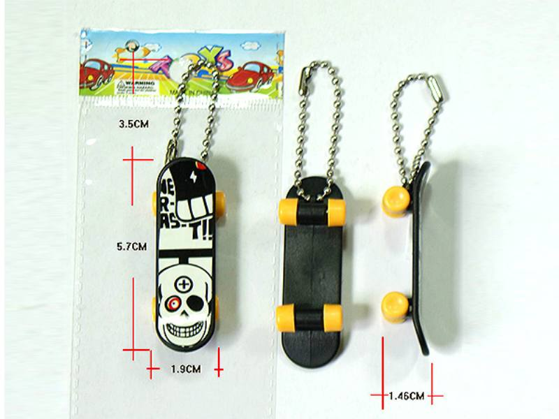 Finger Skate Boarding Finger skateboard with key chain Educational Sport Toys No.TA109580