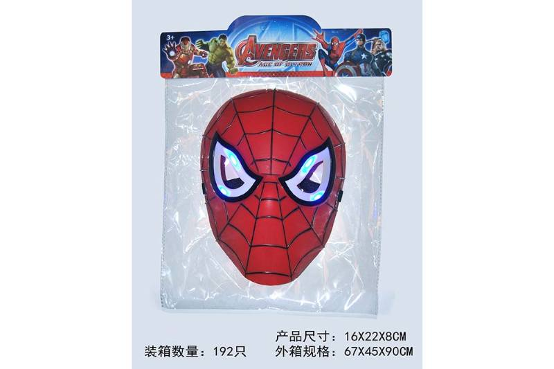 Mask Toys Light Spiderman Mask (Included battery) No.TA239665