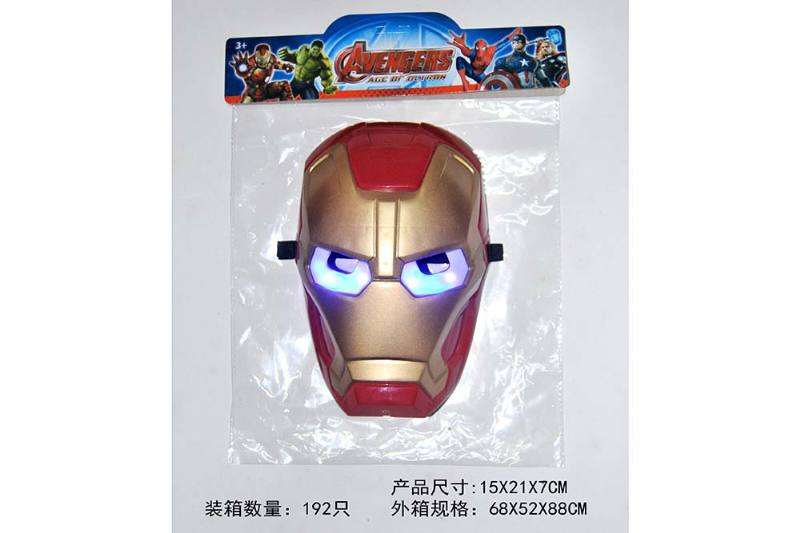Mask Toys Lighted Iron Man Mask (Included battery) No.TA239668