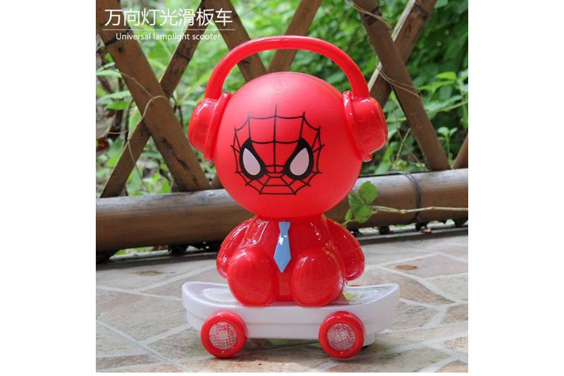 Universal Skateboard Lantern (Iron Man Dahuang Duck Bread Superman Jingle Cat Sp No.TA254112