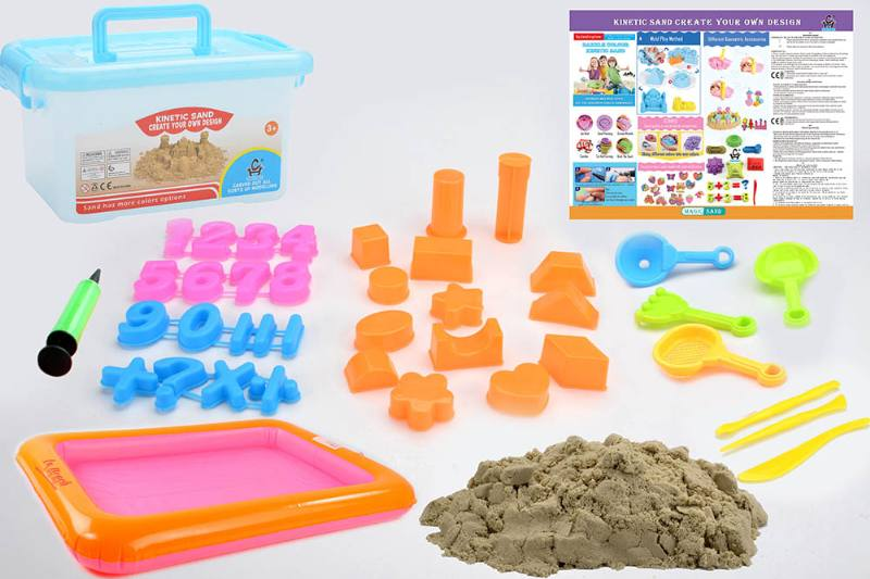 Educational creative DIY toy space sand set toys No.TA254437
