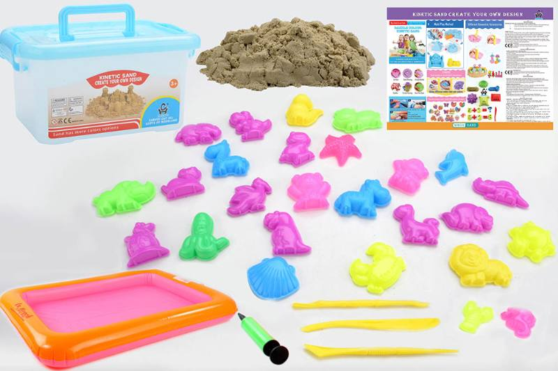 Educational creative DIY toy space sand set toys No.TA254438