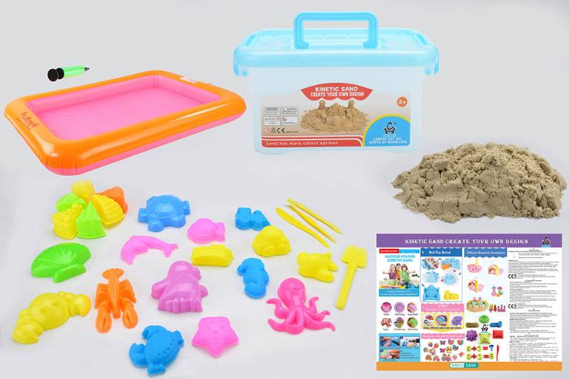 Educational creative DIY toy space sand set toys No.TA254439
