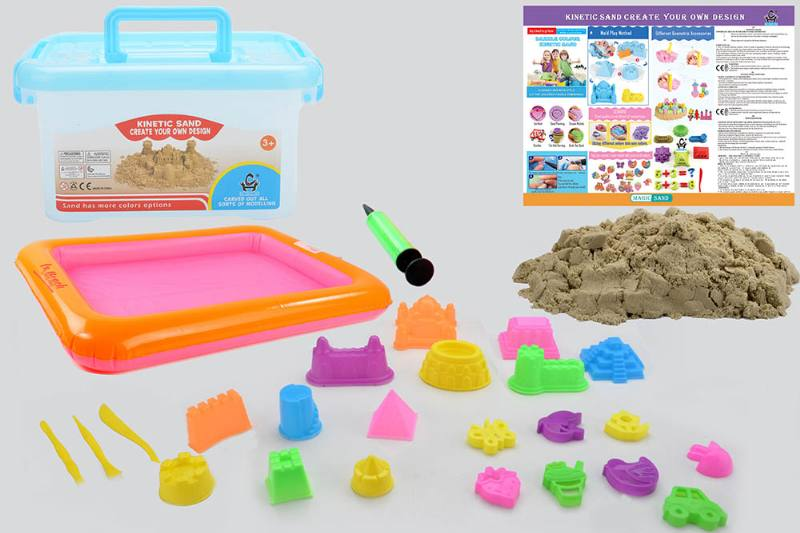 Educational creative DIY toy space sand set toys No.TA254440