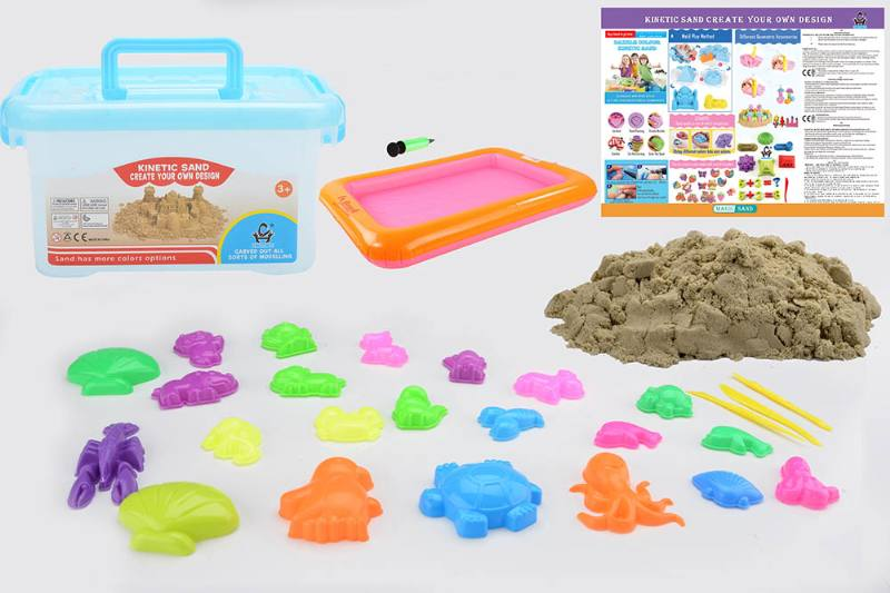 Educational creative DIY toy space sand set toys No.TA254441