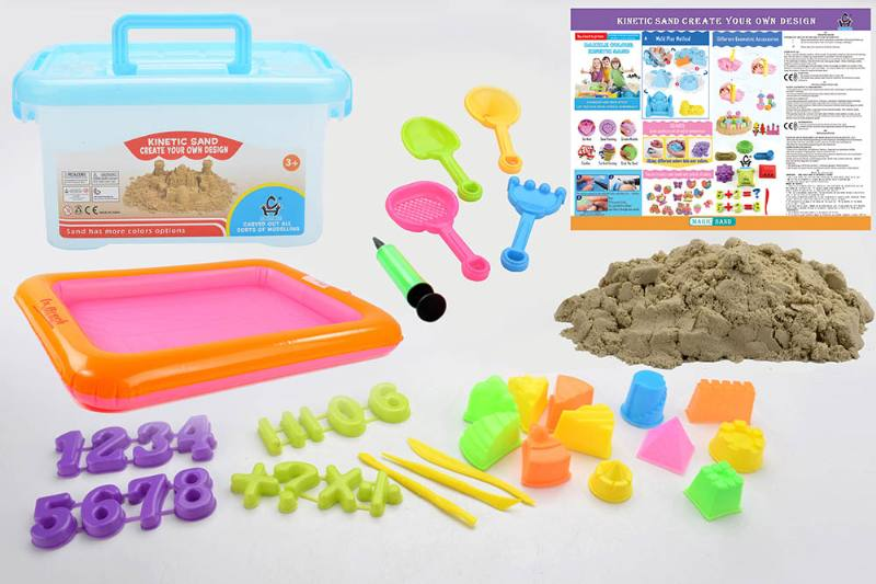 Educational creative DIY toy space sand set toys No.TA254442