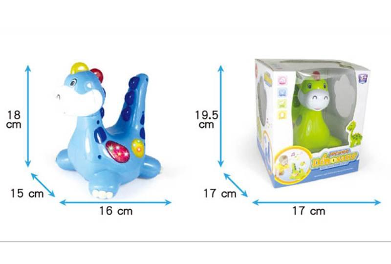 Light music universal cartoon dinosaur No.TA254487