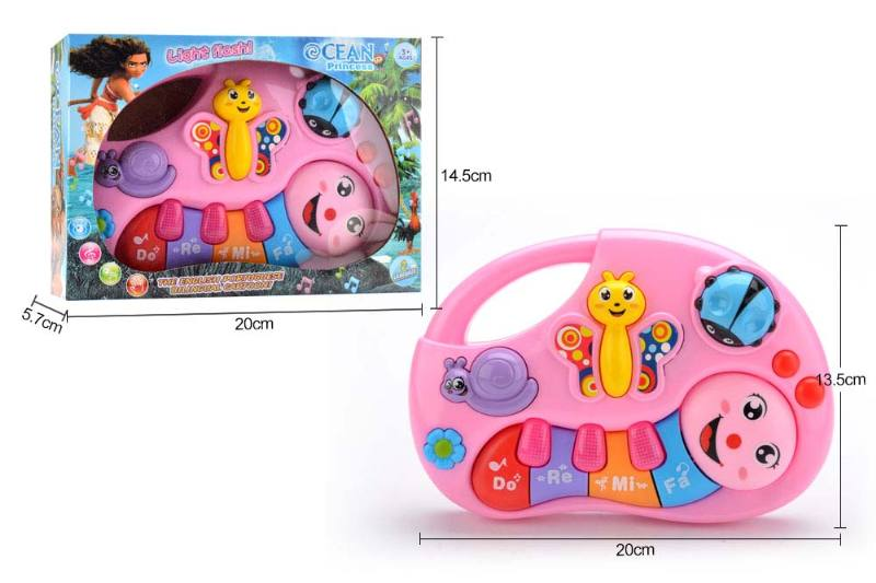 Musical Instrument Toys English, Portuguese Bilingual Keyboard Ocean Princess No.TA246983