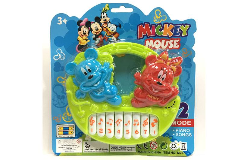 Musical instrument toyss Educational musical toys Mickey keyboard No.TA249851