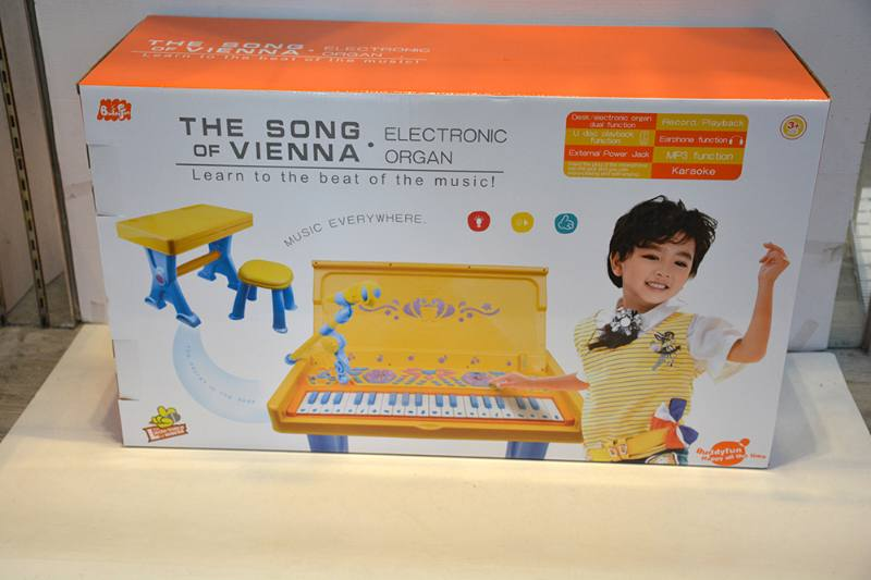 Musical instrument, toy desk, piano No.TA254554