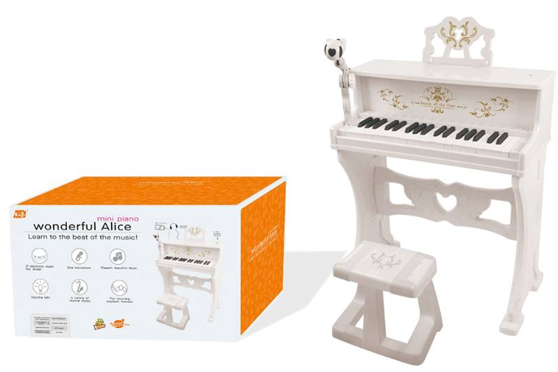 Musical instrument, toy electronic organ No.TA254557