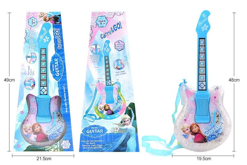 Musical instrument toys Ice and snow guitar No.TA245913