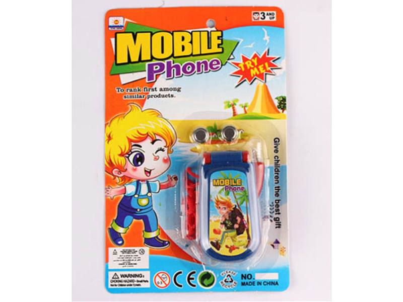 Pretend Play Educational Simulation Phone Toys Male Music Mobile Phones Baby Music Mobile  No.TA167039
