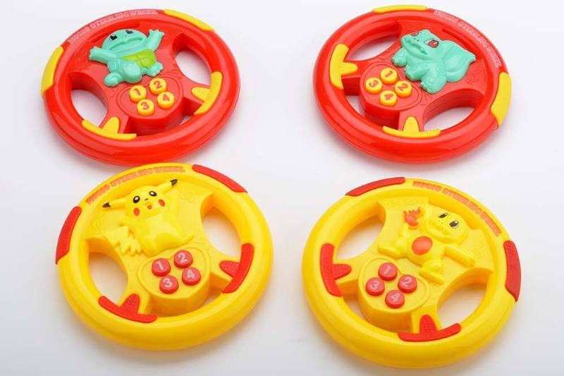 Music steering wheel toy Pikachu steering wheel 4 No.TA238939