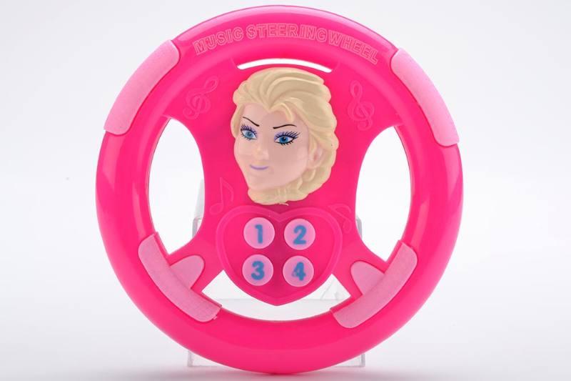 Music steering wheel toy Snow Princess steering wheel No.TA238944