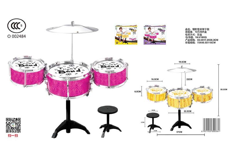 Musical instrument toy laser kit drum No.TA246794