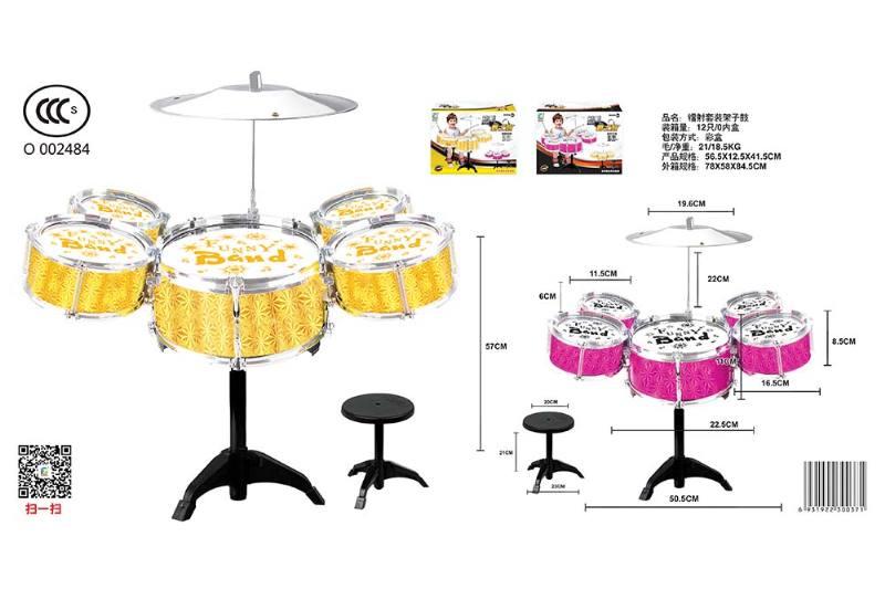 Musical instrument toy laser kit drum No.TA246795