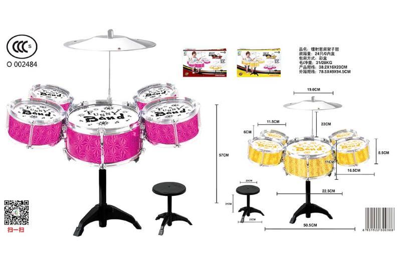 Musical instrument toy laser kit drum No.TA246796