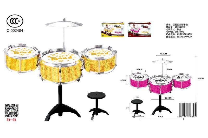 Musical instrument toy laser kit drum No.TA246797
