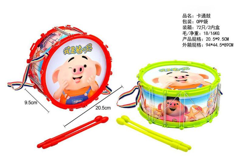 Musical instrument toy cartoon drum No.TA253069