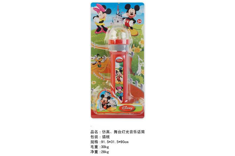 Simulation microphone toy Simulation, stage lighting music microphone (Mickey Mouse) No.TA249455